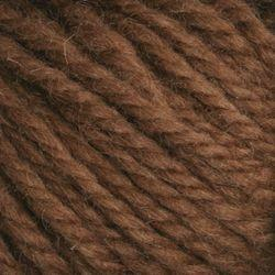 Deep Brown (102)-Halcyon wool rug yarn, dark brown