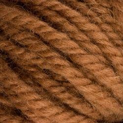 Medium Brown (103)-Halcyon wool rug yarn Halcyon