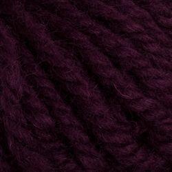Dark Plum (112)-100% Wool Rug Yarn by Halcyon
