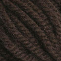 Dark Brown (162)-100% Wool Rug Yarn by Halcyon