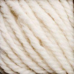 Medium Cream (165)-100% Wool Rug Yarn by Halcyon