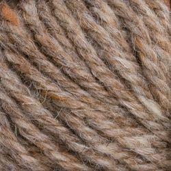 Heather Medium Brown (189)-100% Wool Rug Yarn by Halcyon