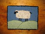 "Wooly Sheep Kit (16.5"" x 12.5"")"