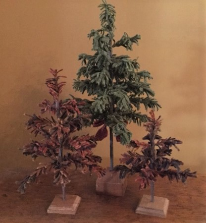 "(A) Feather Tree - 18"" Tall"