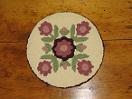 "Merlot Floral Four Square Kit (14"" Round)"
