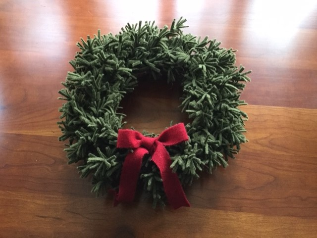 Wool Wreath Kit