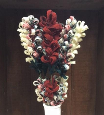Christmas Wool Flowers Kit